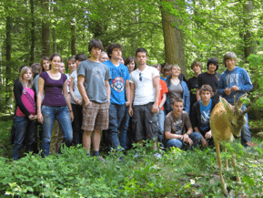 Waldexkursion der Klassen 10