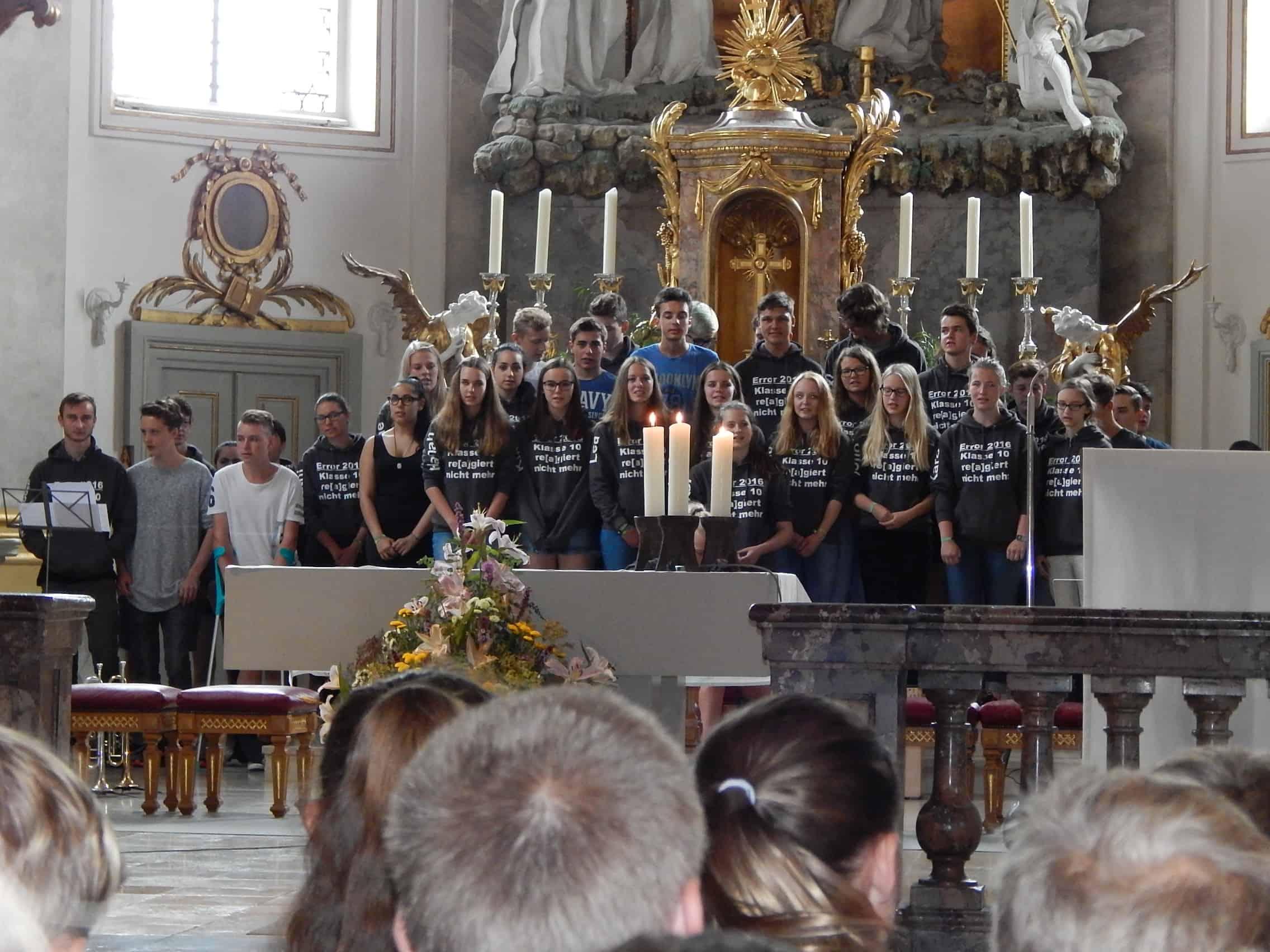 Letzter Schultag am Progymnasium Bad Buchau
