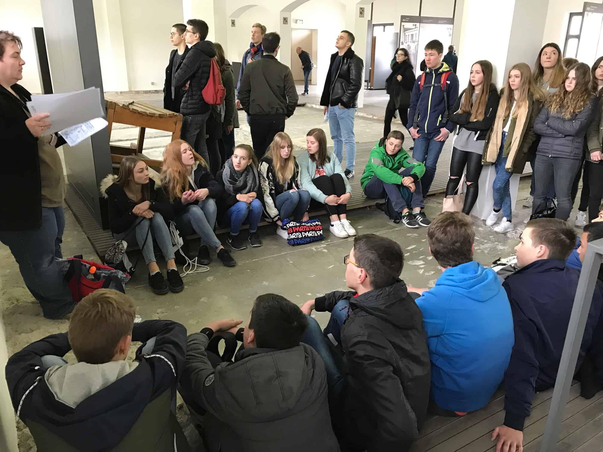 Dachaufahrt der Klassen 9