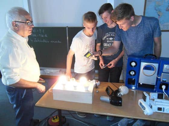 Zehntklässler am Progymnasium Bad Buchau sind jetzt Experten für Energie- und Klimaschutz (SZ)