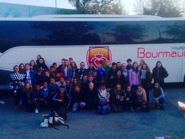 Besuch der französischen Austauschschüler in Bad Buchau