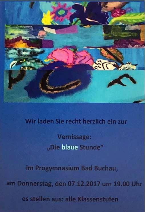 """Vernissage – """"Die blaue Stunde"""""""