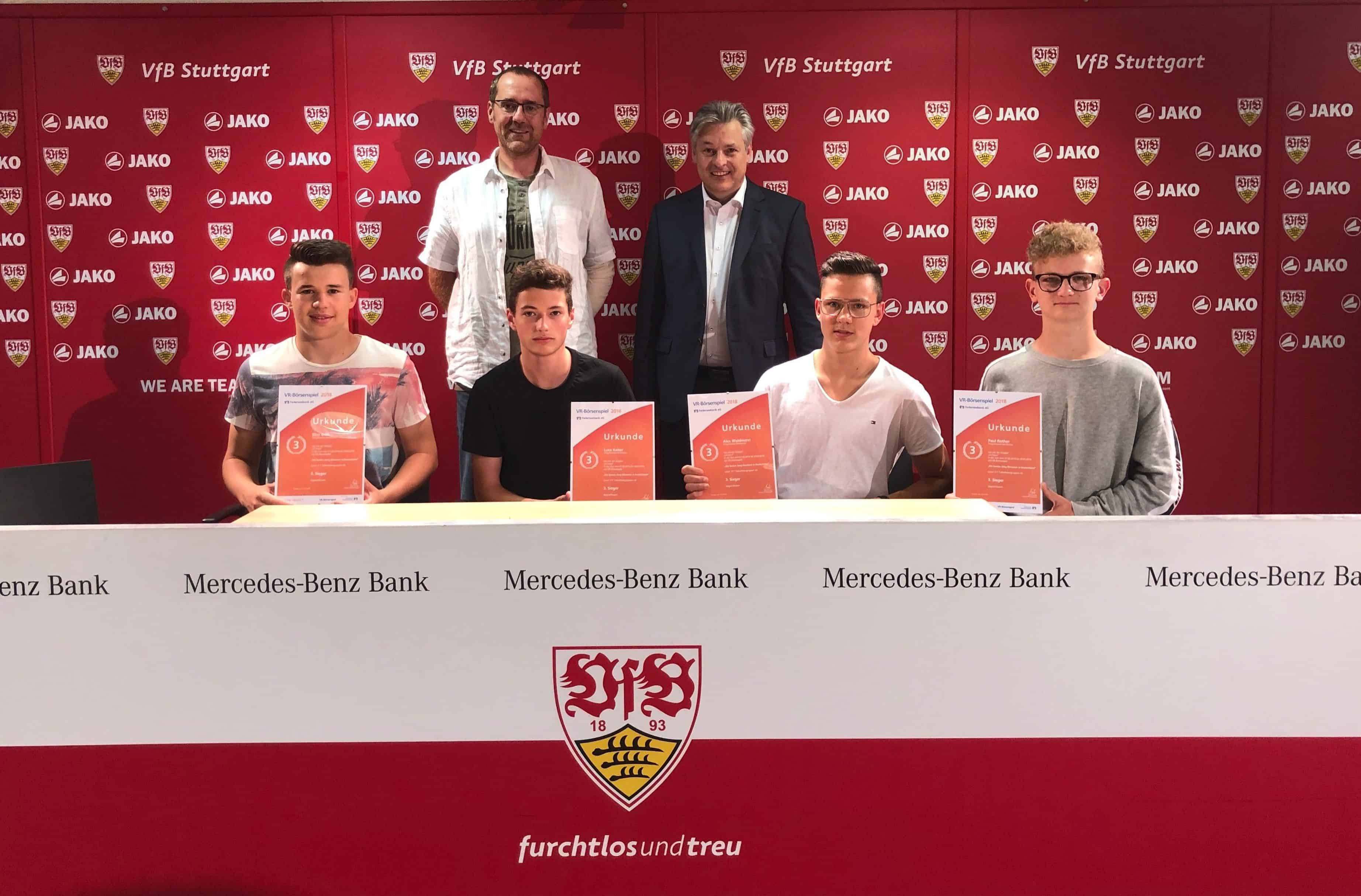 Progymnasium Bad Buchau erobert 3. Platz im deutschlandweiten Börsenspiel der Federseebank