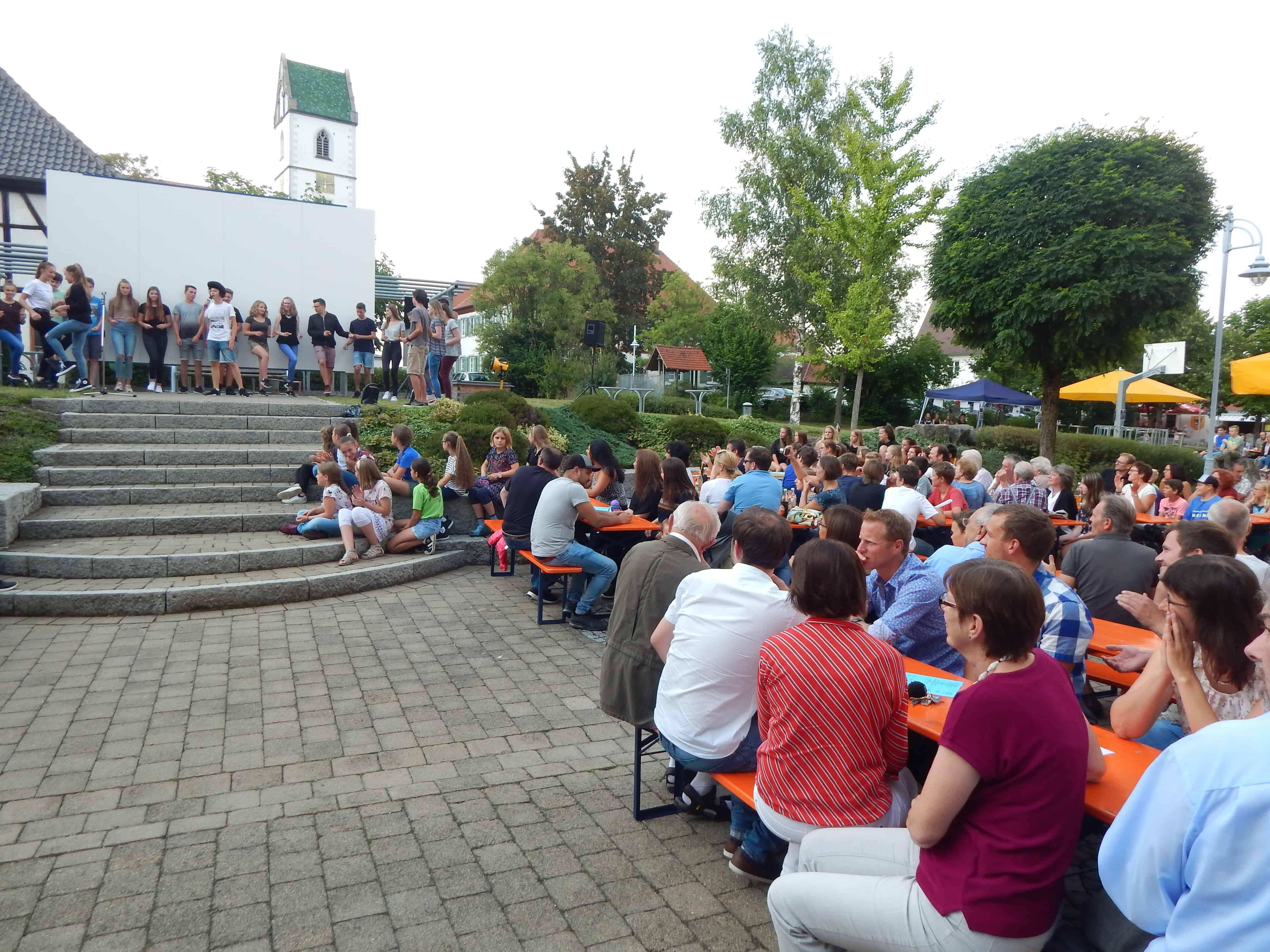 Abschlussfest am Progymnasium Bad Buchau
