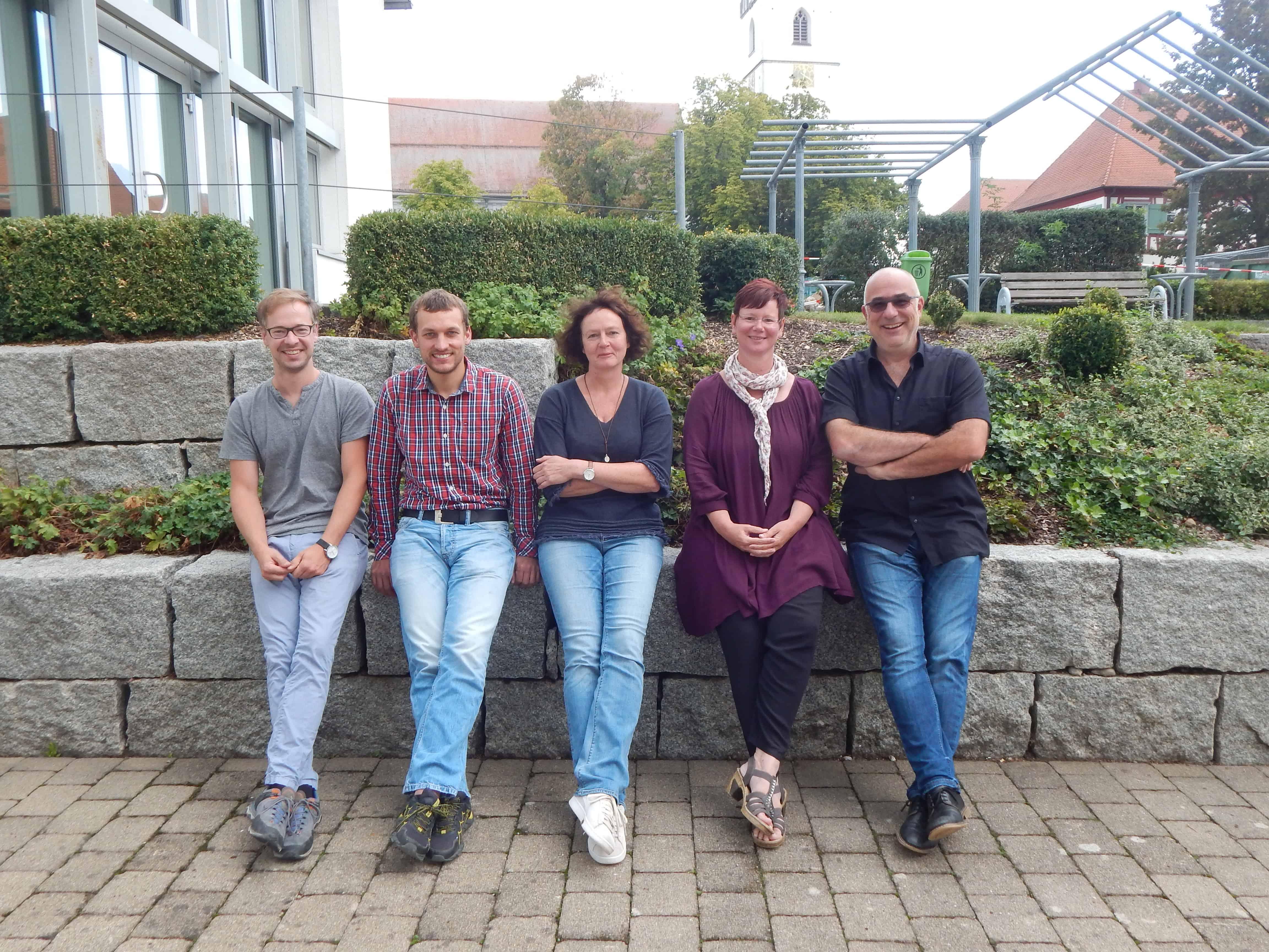 Neue Kolleginnen und Kollegen am Progymnasium