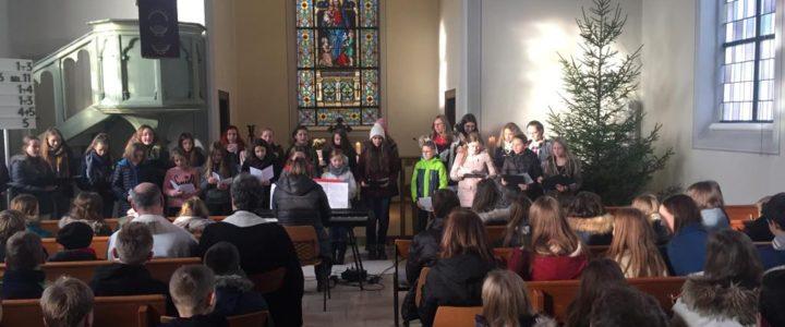 """Weihnachtsgottesdienst am Progymnasium – """"Einander Engel sein"""""""