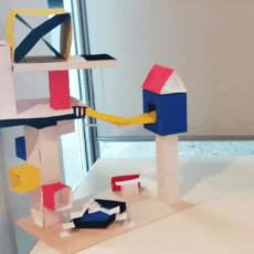 100 Jahre Bauhaus – Werke unserer Siebtklässlerinnen und Siebtklässler bei der Schulkunst-Ausstellung
