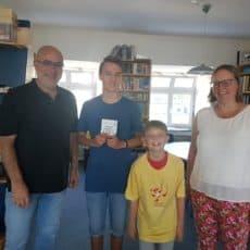 Stolze Preisträger beim Känguru-Wettbewerb